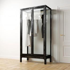 MKRO Стеклянный гардероб