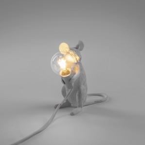 SELETTI 14885 Mouse Lamp Sitting Оригинал. - фото 2