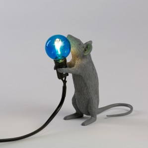 Seletti 14938 Mouse Lamp Standing - фото 2
