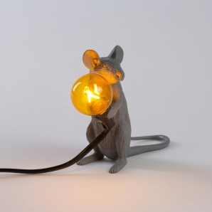 SELETTI 14939 Mouse Lamp Sitting Оригинал. - фото 2
