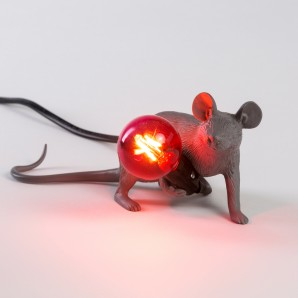 Seletti 14940 Mouse Lamp Lyie Down - фото 2
