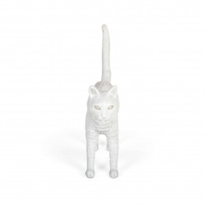 SELETTI 15040 Jobby The Cat White Оригинал.