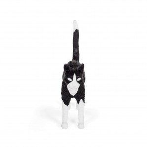 SELETTI 15042 Jobby The Cat Black&White Оригинал.