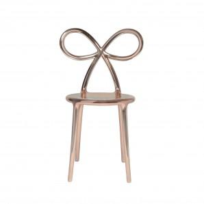 QEEBOO 80002PG Ribbon chair Pink Gold Metal - фото 2