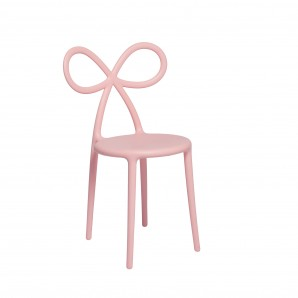 Qeeboo 80001Pi-O Ribbon chair Pink Matte