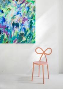 QEEBOO 80001Pi-O Ribbon chair Pink Matte Оригинал. - фото 2