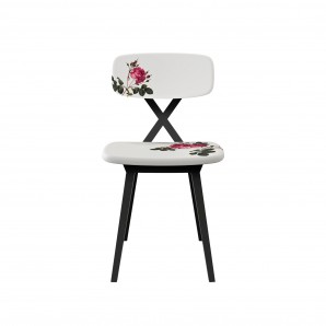 Qeeboo 16002FL X Chair Flower