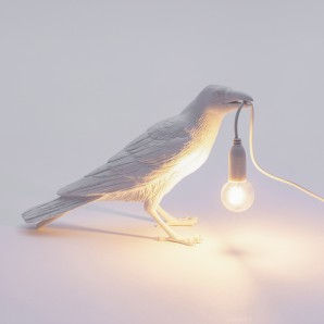 Seletti 14732 Bird Lamp White Waiting - фото 2