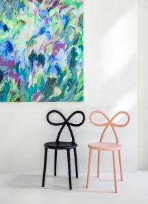 QEEBOO 80001BL-O  Ribbon chair Black Matte Оригинал. - фото 2