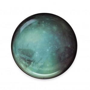 10827 Cosmic Diner  Pluto Dinner Plate