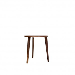 MINT FURNITURE Table Round M8001 walnut Оригинал.