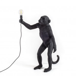 SELETTI 14920 THE MONKEY LAMP Оригинал.