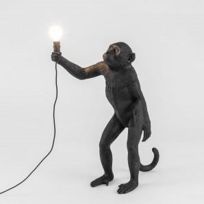 SELETTI 14920 THE MONKEY LAMP Black Standing Version Оригинал. - фото 2