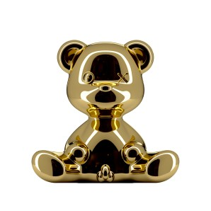 24002GO-M TEDDY BOY LAMP METAL FINISH GOLD