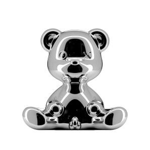 24002SI-M TEDDY BOY LAMP METAL FINISH SILVER