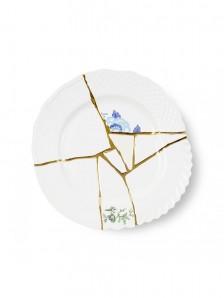 SELETTI KINTSUGI DINNER PLATE 09613 Оригинал.