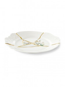 SELETTI KINTSUGI DINNER PLATE 09612 Оригинал. - фото 2