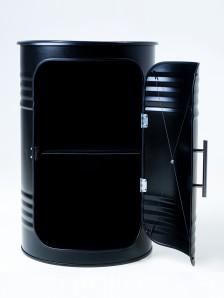 STARBARREL Декоративная бочка-шкаф PRO BLACK - фото 2