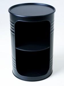 STARBARREL Декоративная бочка-шкаф X BLACK - фото 2