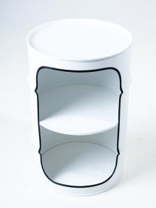 STARBARREL Декоративная бочка-шкаф XE WHITE - фото 2