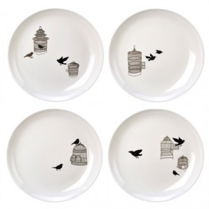 Side plate freedom birds set 230-400-447 Оригинал.