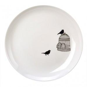 POLS POTTEN Side plate freedom birds set 230-400-447 Оригинал. - фото 2