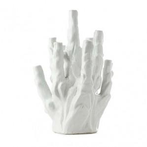 Vase coral 10-tulips white 230-205-018