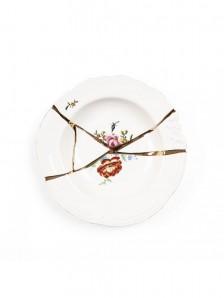 SELETTI 09622 Kintsugi Soup plate Оригинал.
