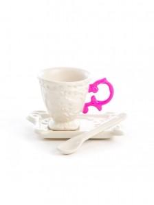 SELETTI 09859_FUC I-WARES I-Coffee Fuchsia Оригинал.