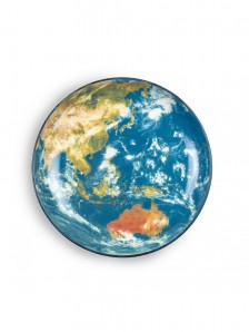 10834 Cosmic Diner Earth Asia Tray Оригинал.