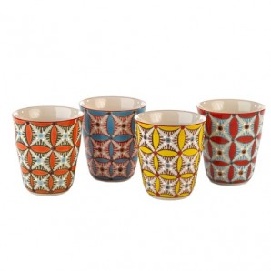 230-400-185 cups colour hippy set 4 Оригинал