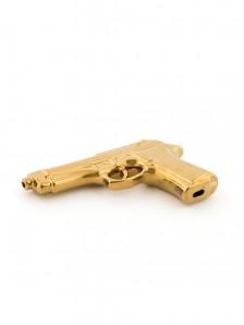 SELETTI 10414_ORO Memorabilia Gold My Gun Оригинал.