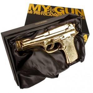 SELETTI 10414_ORO Memorabilia Gold My Gun Оригинал. - фото 2