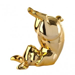 230-300-163 moneybox bunny bum gold Оригинал.
