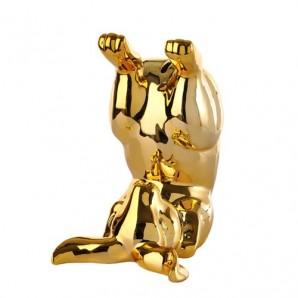 230-300-163 moneybox bunny bum gold Оригинал. - фото 2