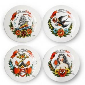 230-400-530 side plate tattoo set 4 Оригинал.