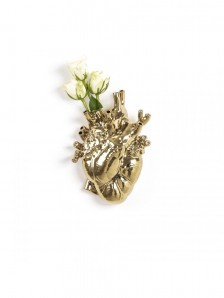 09921 Love in Bloom Gold Vase Оригинал. - фото 2