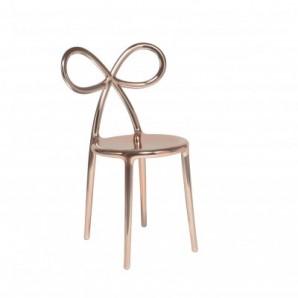 80002PG Ribbon chair Pink Gold Metal Оригинал.