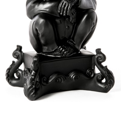 SELETTI 14870_NER Burlesque Chimp Black 5 Оригинал.