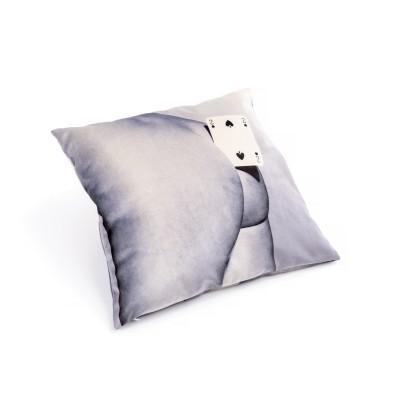 SELETTI 02329 Pillow Two of spades Оригинал.