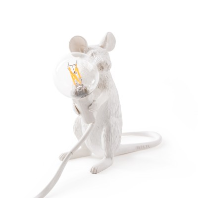 Seletti 14885 Mouse Lamp Sitting