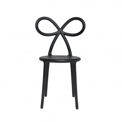 QEEBOO 80001BL-O  Ribbon chair Black Matte