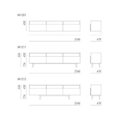 Mint Sideboard M1211