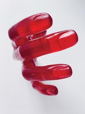 HIDE Red Пара рук-вешалок