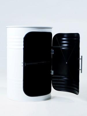 STARBARREL Декоративная бочка-шкаф PRO WHITE