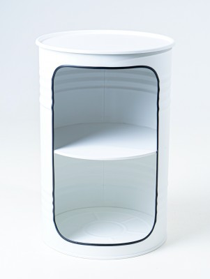 STARBARREL Декоративная бочка-шкаф X WHITE