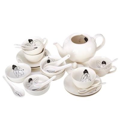 POLS POTTEN Bowl undressed set 230-400-179