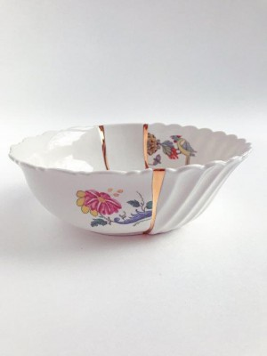 SELETTI 09637 Kintsugi Salad Bowl Оригинал.