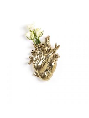 SELETTI 09921 Love in Bloom Gold Vase Оригинал.