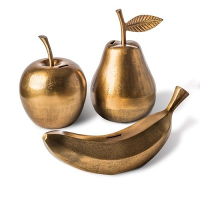 POLS POTTEN 300-300-136 moneybox pear gold Оригинал.